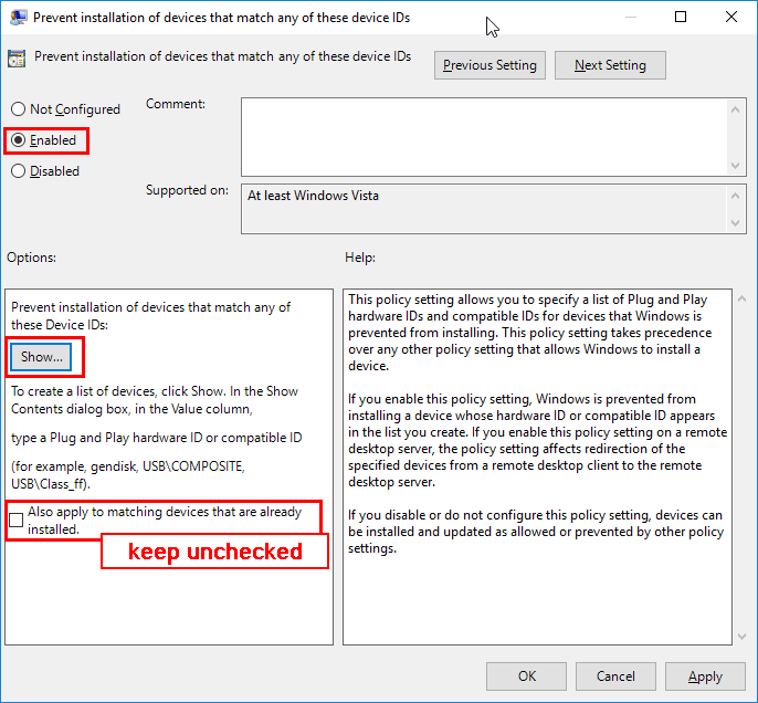 Disable Windows 10's Automatic Driver Updates | IP Cam Talk